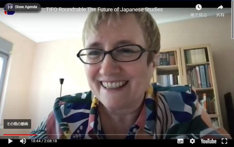 Prof. Verena Blechinger-Talcott, President, EAJS